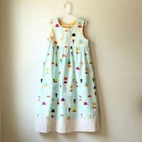 Made by Rae - Geranium Dress 6 - 12 years